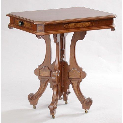 5: Victorian Walnut Parlor Table