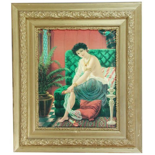 10: Print Partially Nude Woman