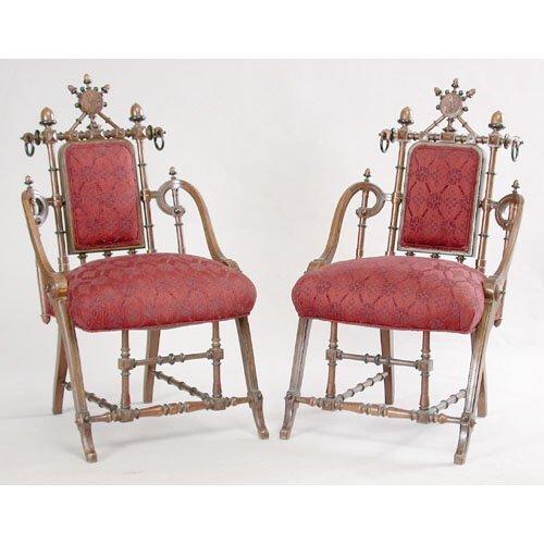 11: Victorian Hunzinger Chairs