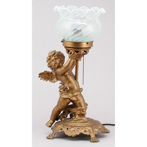 12: Cherub Lamp