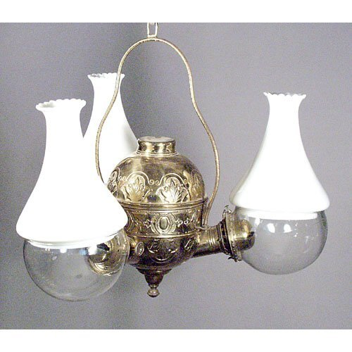 14: Three Font Angle Lamp