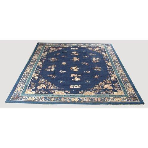 19: Semi-Antique Chinese Oriental Carpet