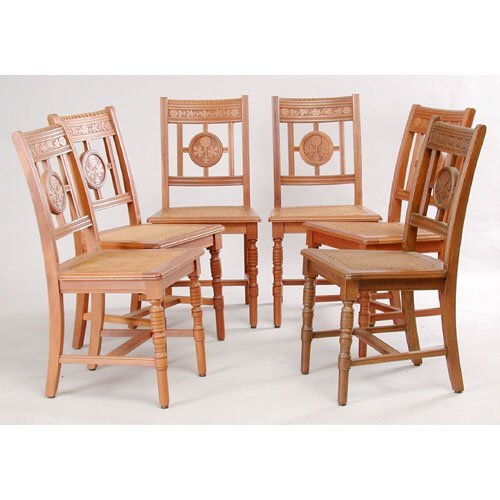 22: Six Victorian Dining Chairs