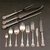 139 Towle Sterling Silver Flatware 100 Pcs