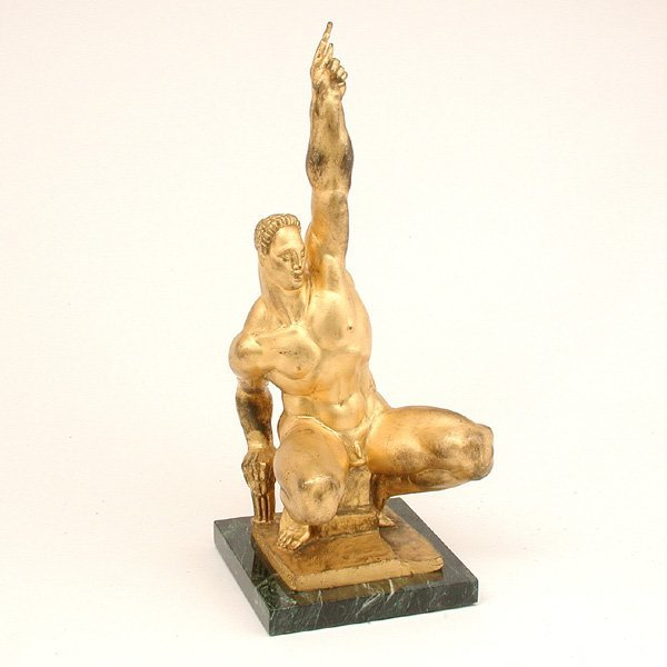 501: Donald De Lue Sculpture, Jason, Triumph Over Tyran