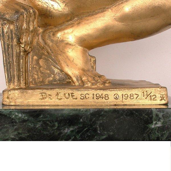 501: Donald De Lue Sculpture, Jason, Triumph Over Tyran - 2