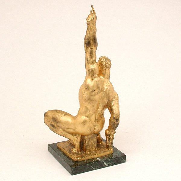 501: Donald De Lue Sculpture, Jason, Triumph Over Tyran - 3