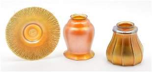 Quezal Art Glass Grouping.