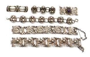 Rafael Melendez Taxco Mexico Silver Jewelry.