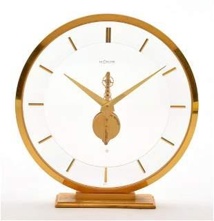Rare Jaeger LeCoultre 474 Mid Century 1950's/60's Clock