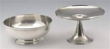 Gorham Sterling Silver Grouping Bowl  Compote