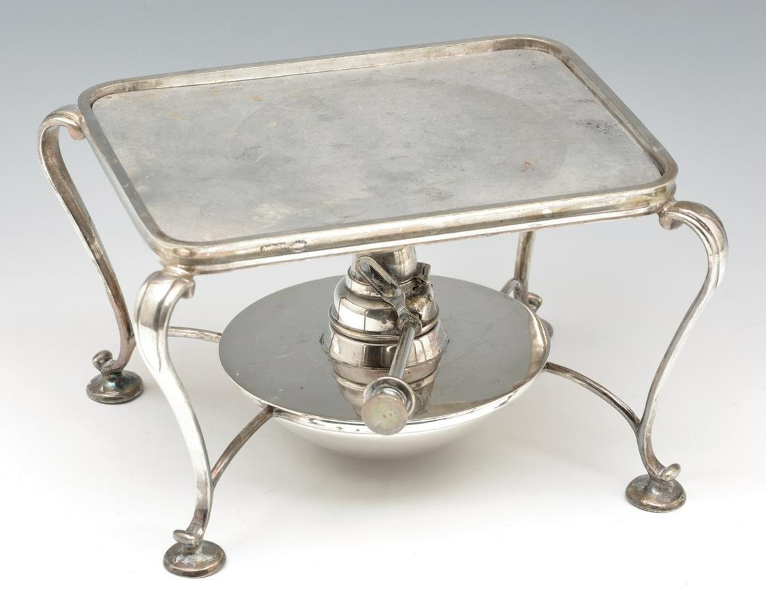 Asprey & Co Silver Plate Warmer