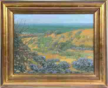 Theodore Wores, Ocean Dunes of San Francisco, o/c