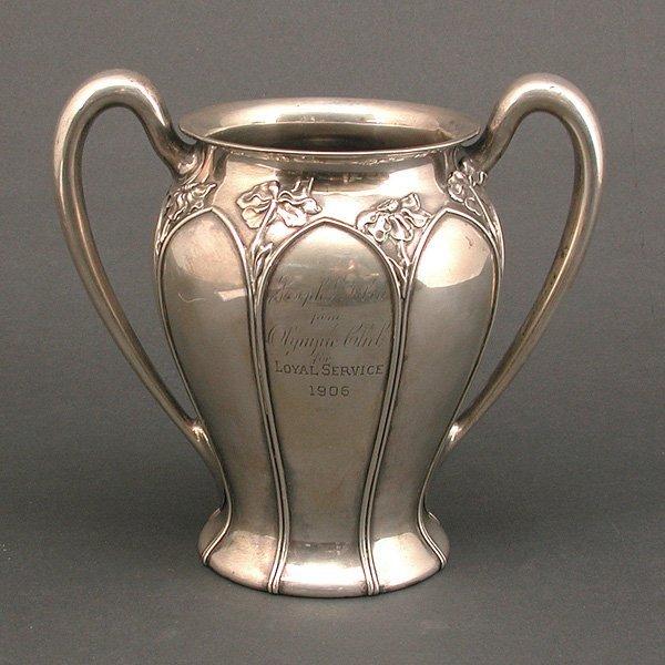 4: 1906 Earthquake Sterling Presentation Vase