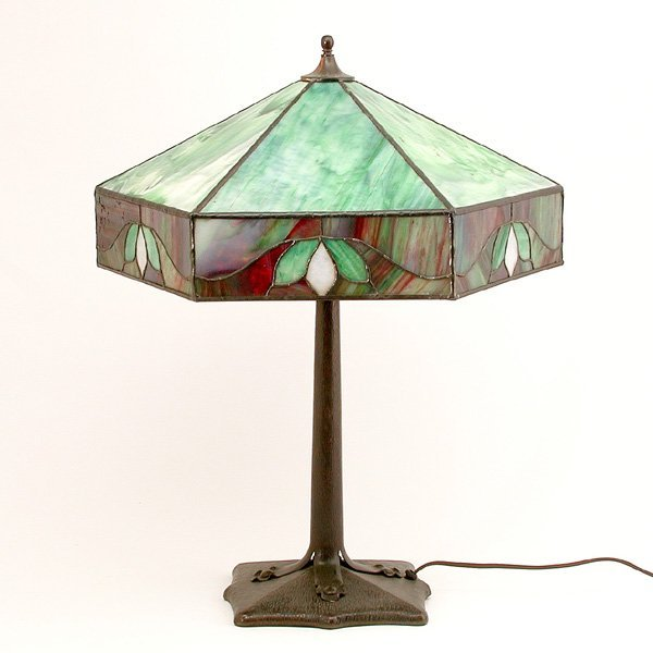 5: Arts & Crafts Stained Glass Lamp