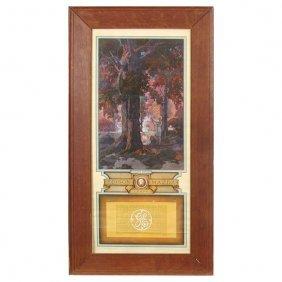 Maxfield Parrish Calendar, Golden Hours,1929, Large