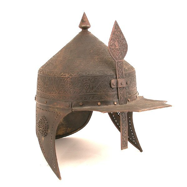 280: Ottoman Military Helmet, Engraved Decoration, 1814