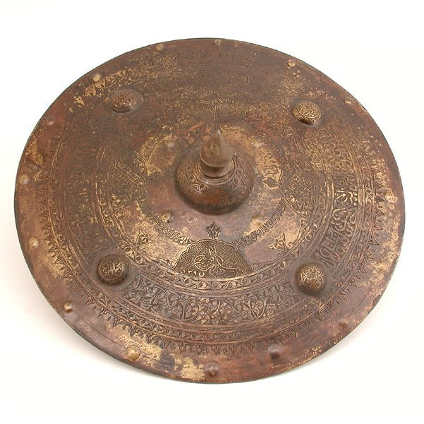 281: Ottoman Military Shield, Dated 1814