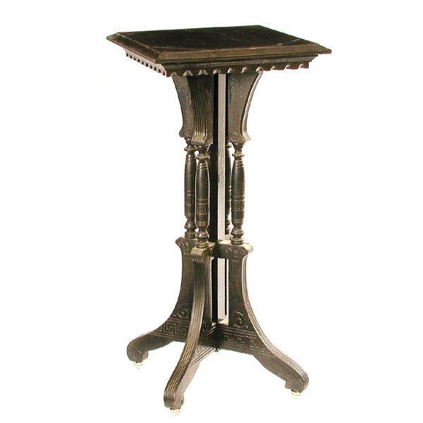 3: Victorian Ebonized Occasional Table