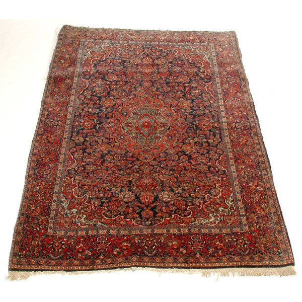 9: Persian Kashan Carpet
