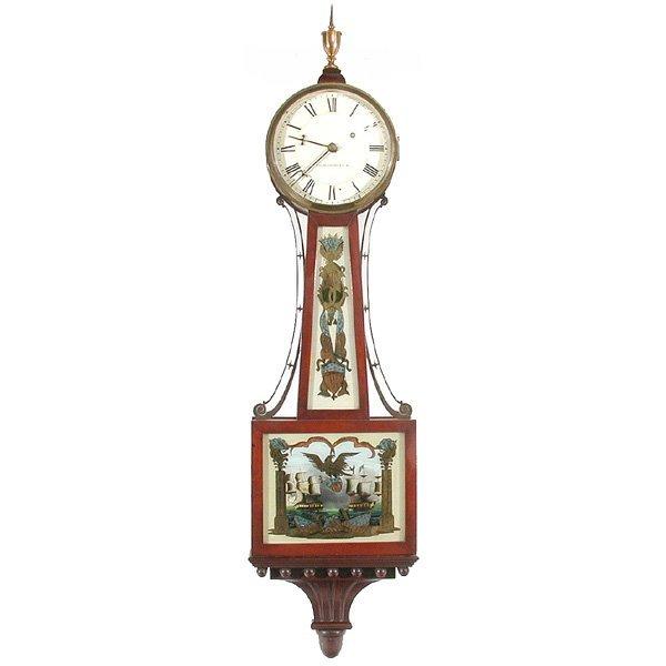 12: American Banjo Clock, Bigelow & Kennard