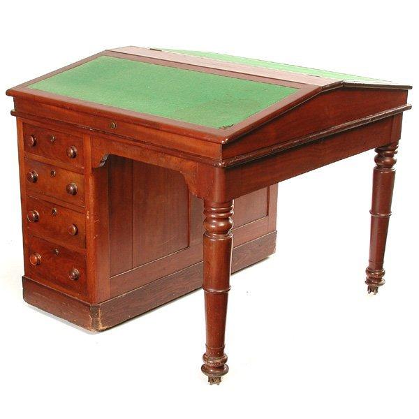 17: Double Accountants Desk, 19th. C