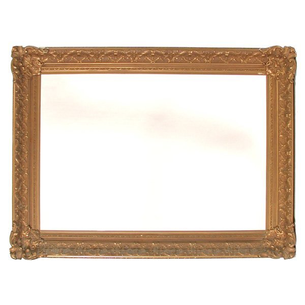22: Large Continental Giltwood & Gesso Frame