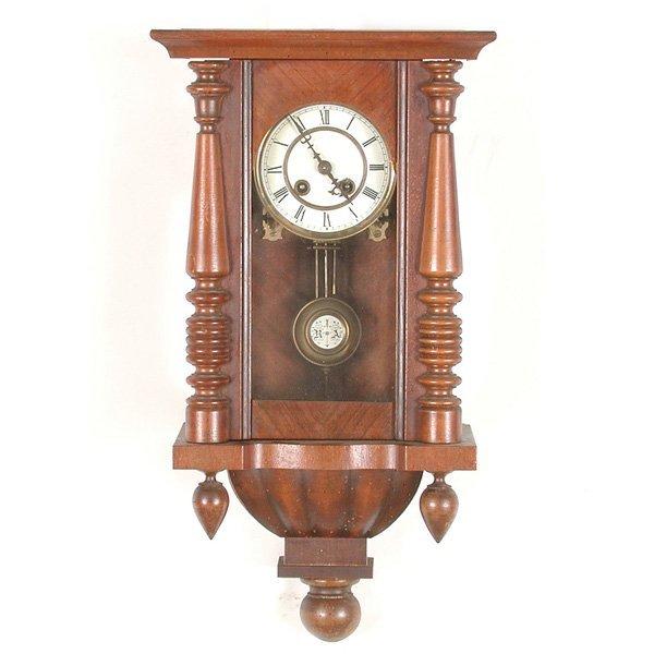 25: German Wall Clock, Friedrich Mauthe Schwenningen