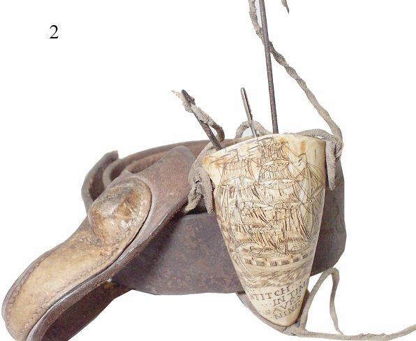 2: Scrimshaw Sail Maker's Belt
