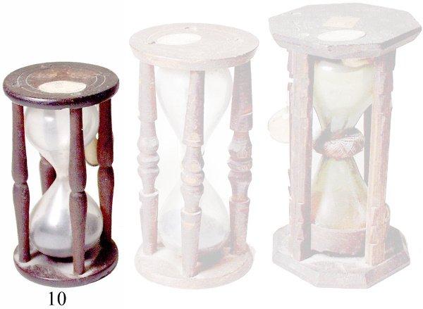 10: Sand Glass Log Timer