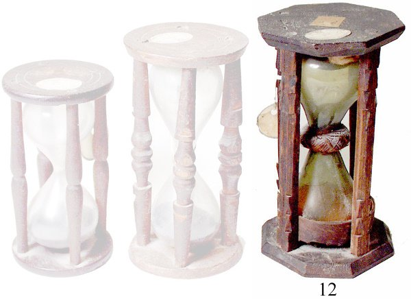 12: Early Sand Glass Timer