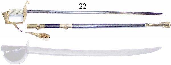 22: U.S.N. Officer's Sword