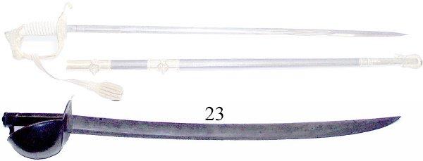 23: 19th C. Naval Cutlass