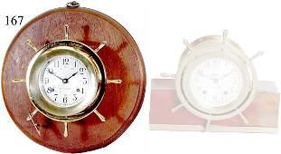 167: Solid Brass Ship's Clock