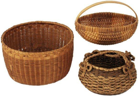 1001: Cherokee Baskets