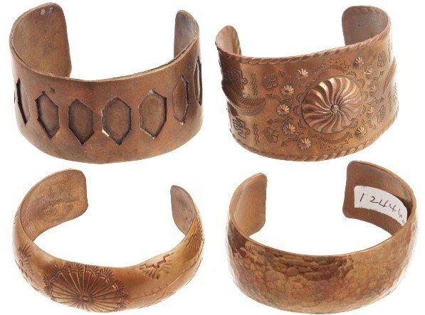 1003: Native American Cuff Bracelets