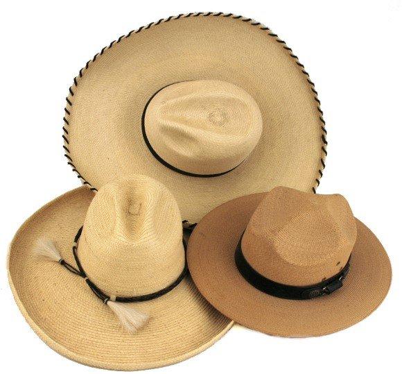 1007: 3 Cowboy Hats