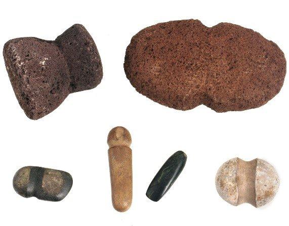 1012: 6 Prehistoric Implements