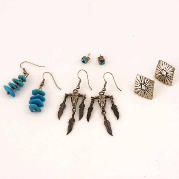 1017: Zuni Earrings