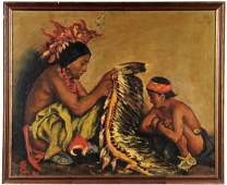 1116: Native American Painting