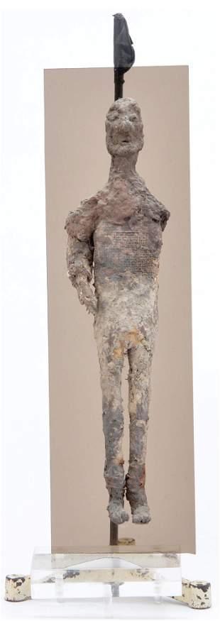 """Effigy Figure, """"Mummified"""", 13.25"""" tall"""