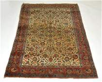 "Persian Carpet. 83"" x 52"". Good condition"