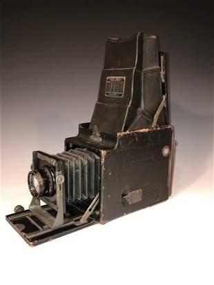 Ansel Adams RB Auto Graflex Camera name/address embosse