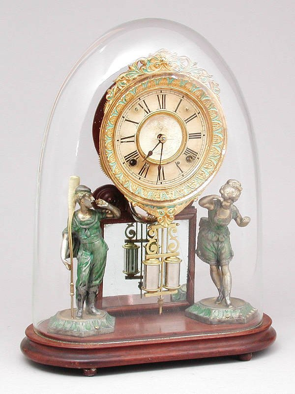 "1: Ansonia ""Crystal Palace"" Clock"