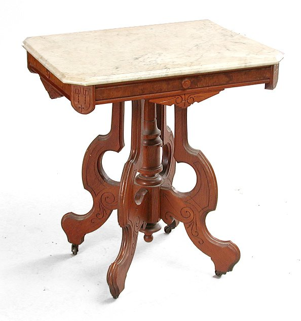 3: Victorian Parlor Table