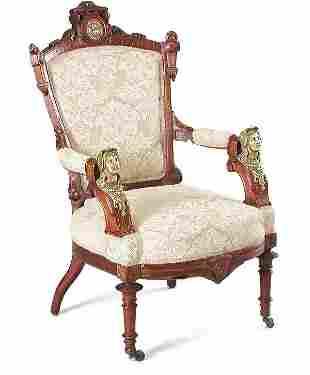 Pottier & Stymus Renaissance Armchair