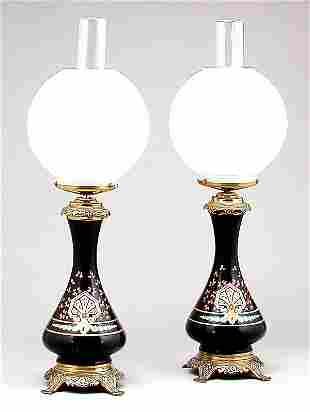 Pair of French Aesthetic Lamp Bases
