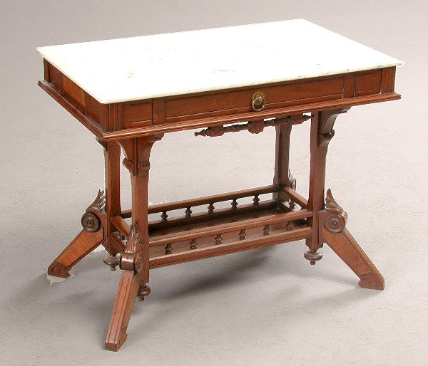 12: Victorian Library Table