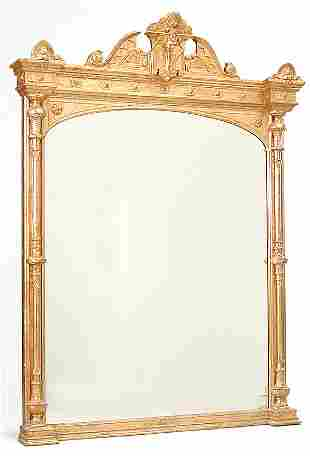 Massive Giltwood Pier Mirror