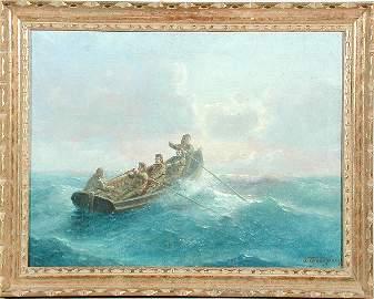 323: Emilios Prosalentis Fishermen in Rowboat
